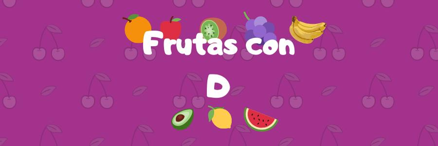 fruta por d