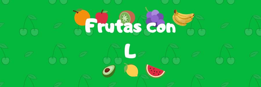 frutas que comienzan por l