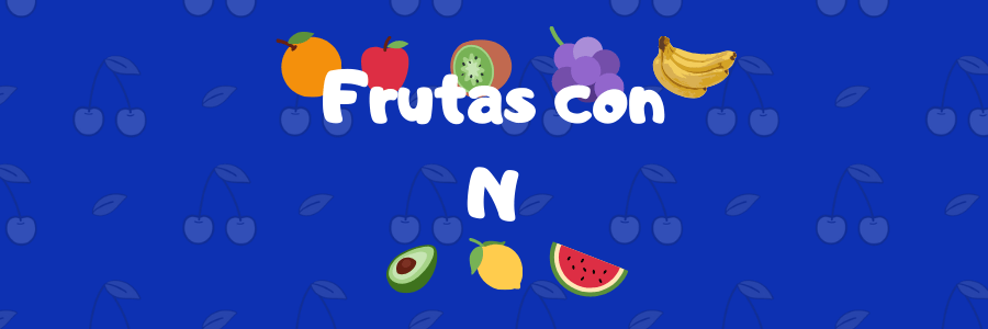 fruta con n