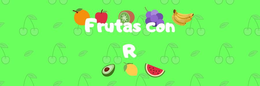 fruta con r