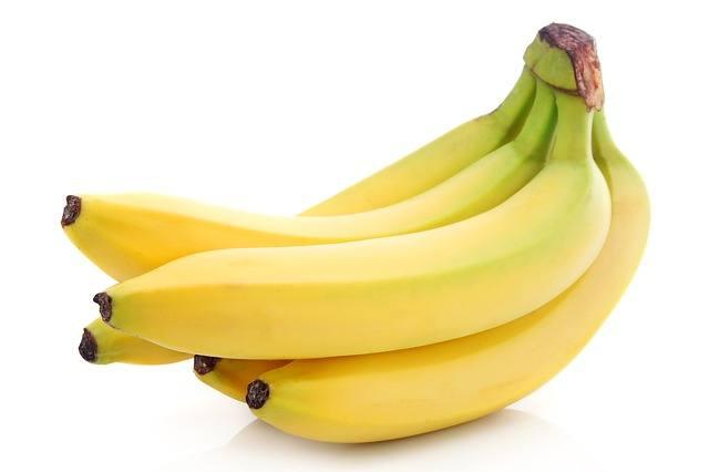 frutas que comienzan por banana